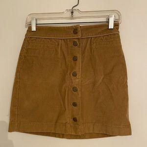 Wilfred Free Karmen Skirt Corduroy Mini Size 4